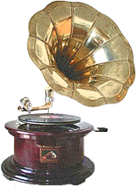 Vintage Wedding DJ Gramophone