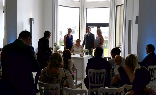 Liver Building Wedding DJ