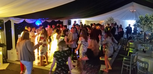 Sweeney Hall Oswestry Wedding DJ